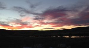 Sunset On The Bighorn River - Tyler Steele Guide Service